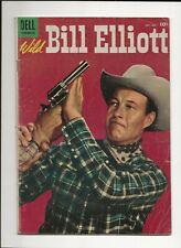 WILD BILL ELLIOTT #15 1954 DELL GOLDEN AGE WESTERN PHOTO COVER GD/VG