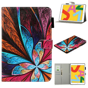 For iPad 10.2 8th 7th 6th 5th 3rd 9.7 Air Mini 4 5 Pro 10.5 Leather Case Cover