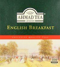 300  Ahmad English Breakfast Tea Bags   (3 Boxes Of 100 )**** Free Post *****