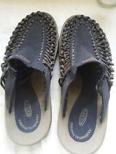 Keen Mens Original Sandals UNEEK Blue/Gray Slides Cushioned Shoes US 9 EU 42