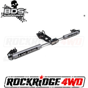 BDS NX2 Dual Steering Stabilizer Kit For Dodge Ram 1500 2500 94-02