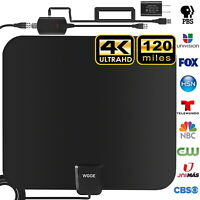 TV Antenna, Upgraded Newest HDTV Indoor Digital Amplified TV Antennas180 Miles
