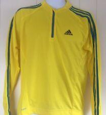 Adidas Response Long Sleeve Mens Cycling Jersey - Yellow - Medium