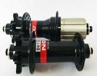 Novatec Road Disc Shimano Sram hub set black 11 Speed 24H 24H Quick Release