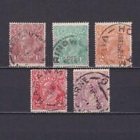 AUSTRALIA 1918, SG# 59-65, CV £20, part set, King George V, Used