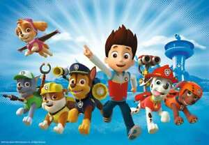 Paw Patrol Poster Bedroom Wall Art Printed on A3 Gloss Photo Paper!!!