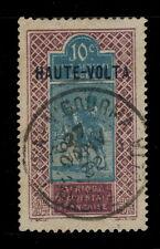 "HAUTE-VOLTA - 1932 - CAD DOUBLE CERCLE ""FADA-N'GOURMA / HAUTE-VOLTA"" SUR N°26"
