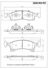 Disc Brake Pad Set-Ceramic Pads Front Pronto PCD934