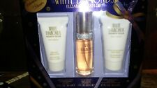 Elizabeth Taylor Women's White Diamonds Fragrance 3PC Gift Set Perfume Toilette