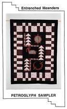 Petroglyph Sampler Uncut Quilting Pattern Entrenched Meanders Molas Appliques