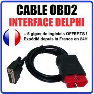 Kabel OBDII kompatiblen ersatz mit schnittstelle Delphi DS150 DS100
