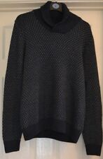 "M&S men's cotton blend knitted jumper size Medium 38-40"" chest Teal/blue BNWT"