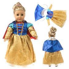 1set  Prinzessin Anzug Mode Puppe Kleidung Für 18'' little Girl Doll