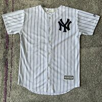 Majestic Cool Base Mlb New York Yankees Baseball Jersey Youth Medium