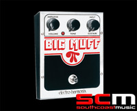 Electro Harmonix USA Big Muff Pi Distortion Sustainer Pedal FX Effects Guitar