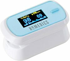 HoMedics Fingertip Pulse Oximeter - Measures Oxygen Saturation, Pulse Rate,