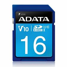 16GB A-Data Premier SDHC CL10 UHS-1 Memory Card