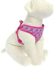Top Paw Comfort Dog Harness Adjustable LARGE Pink W/ Flowers NEW!!