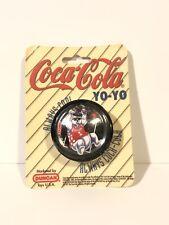 RARE Vtg 1997 Coca Cola polar bear playing basketball Duncan Yoyo New