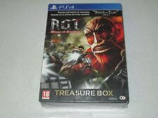 Attack On Titan Wings Of Freedom Treasure Box Edition PS4 Import Sealed
