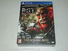 Attack On Titan Wings Of Freedom Treasure Box Edition PS4 Import FREE SHIPPING