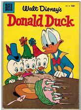 DONALD DUCK #46 1956 SECRET OF HONDORICA CARL BARKS ART EARLY SILVER AGE!
