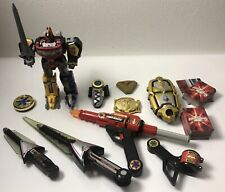 Lot Power Rangers Megazord Morpher Sword Gun Card Reader +