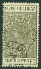 EDW1949SELL : NEW ZEALAND 1906 Scott #AR39 Very Fine, Used. Fresh stamp Cat $400