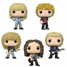 Funko Pop! Rocks, Def Leppard, Set of Five, Complete Band, Nib, Free Shipping!