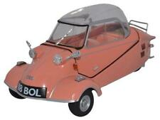 Oxford Diecast 18MBC003 Messerschmitt KR200 Bubble Car Rose 1:18 Scale Model