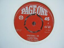"""RECORD 7"""" SINGLE PLASTIC PENNY EVERYTHING I AM 1304"""