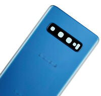 New Replacement Back Battery Glass Cover for Samsung  Galaxy S10 G973 - Blue