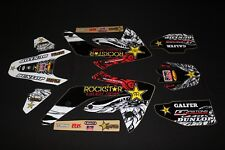 HONDA CRF 150R TEAM ROCKSTAR  FLU MX GRAPHICS KIT STICKER KIT STICKERS DECALS