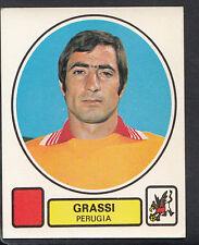 PANINI CALCIATORI FOOTBALL Adesivo 1977-78, N. 215, PERUGIA-GRASSI