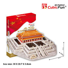 New Hall of Supreme Harmony China 3D Model Jigsaw Puzzle 100 Pieces MC127