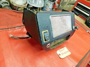 MG Midget, Sprite, Radio & Switch Console, Original, !!