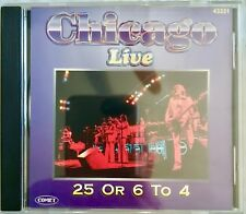 Chicago Live 25 Or 6 To 4 Beginnings Does Anybody Know What Time It Is?