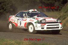 Yoshio Fujimoto Toyota Celica Turbo 4WD New Zealand Rally 1994 Photograph 1