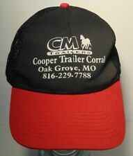 Cm Horse Trailers Cm Farm Livestock Horse Trailers Missouri Trucker Hat Cap