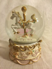 Romantique - Carousel Snow Globe (A)