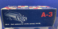 1:43 RIO MODELS  FIAT 18 BL (1914) Vintage Flatbed Truck. Mint Boxed Condition