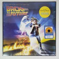 Back To The Future- Soundtrack LP Vinyl Walmart Exclusive Limited Edition Orange