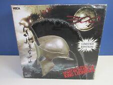 More details for neca 300 movie full size spartan helmet king leonidas prop replica frank miller