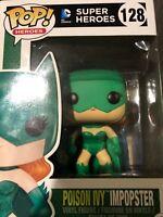 "FUNKO POP! POISON IVY ""IMPOPSTER"" #128 Super Heroes (Heroes) DC Comics C"