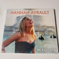NEW CD Me Right Now Hannah Ayrault 2015 Detroit Singer Rock Piano Private Press