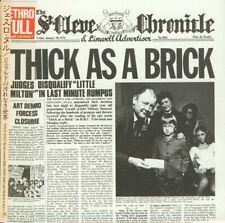 JETHRO TULL - THICK AS A BRICK JAPAN MINI LP/CD