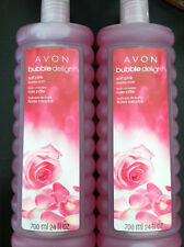 LOT OF 5 AVON SOFT PINK Bubble Bath 24 FL.OZ NEW PACKAGING