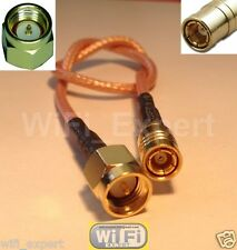 1 x 8 inch SMA Male jack to SMB Female Pigtail Jumper RF cable RG316 USA