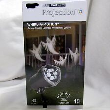 Gemmy LED Light Show Projection Whirl A Motion Ghost Halloween Decoration