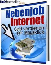 EBOOK Nebenjob Internet GELD verdienen Traumberuf Karriere Beruf PDF Job Wow Neu